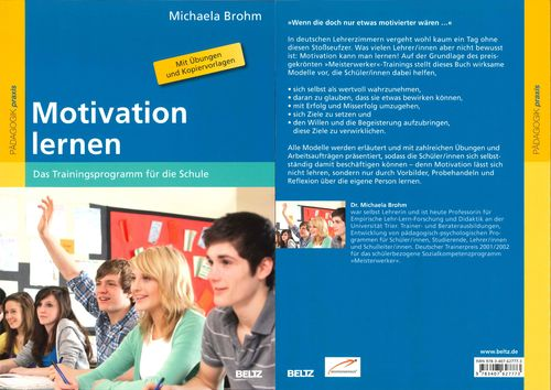 Buch Michaela Brohm: Motivation lernen